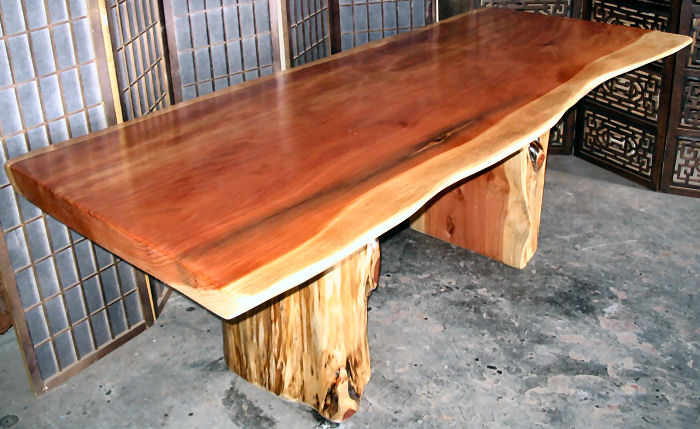 Dining Table Redwood Burl Dining Table