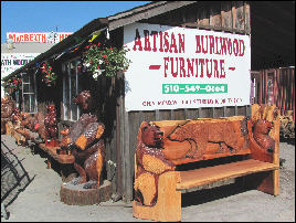 Artisan Burlwood Furniture